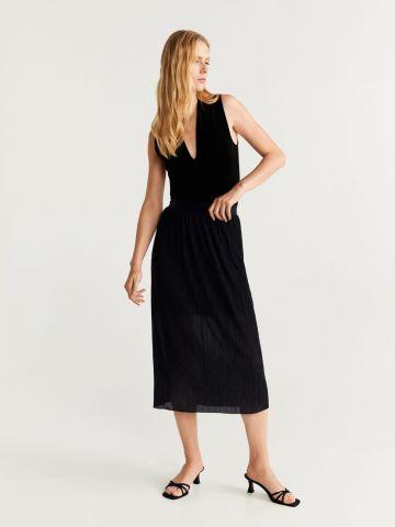 חצאית מידי פליסה