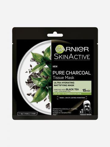 מסכת בד פחם תה שחור Black Tissue Charcoal