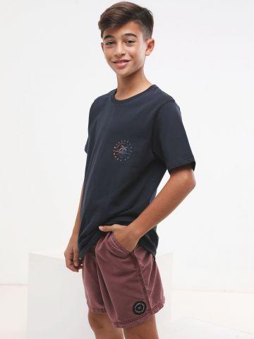מכנסי בגד ים ווש קצרים
