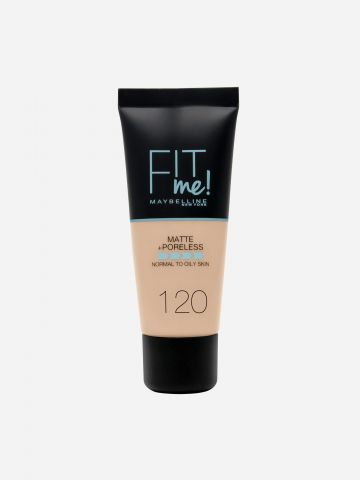 מייקאפ Classic Ivory 102 / Fit Me Matte & Poreless Foundation של MAYBELLINE