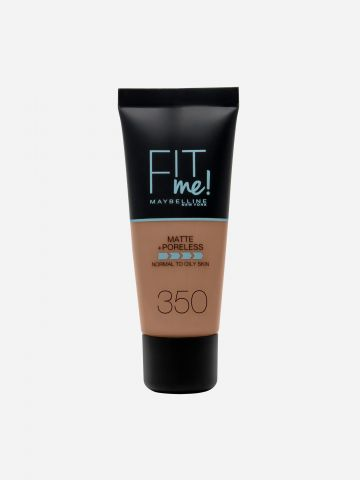 מייקאפ Caramel 350 / Fit Me Matte & Poreless Foundation