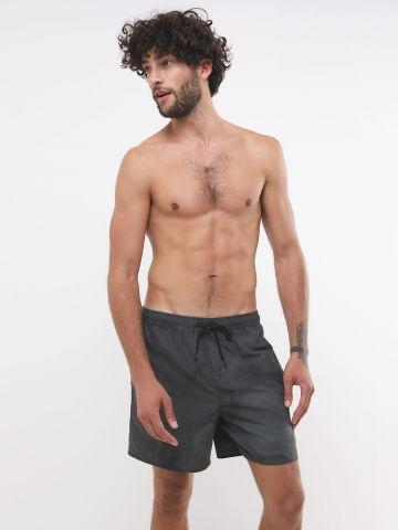 מכנסי בגד ים עם שרוך קשירה