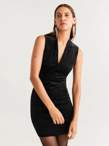 שמלת קטיפה לורקס מיני