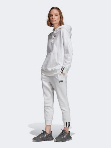 מכנסי טרנינג עם פאץ' לוגו