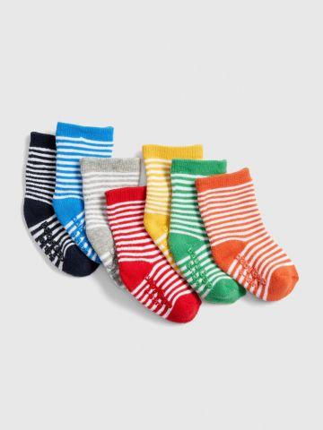 מארז 7 זוגות גרביים /0-24M