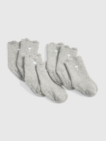 מארז 7 זוגות גרביים עם הדפס /0-24M