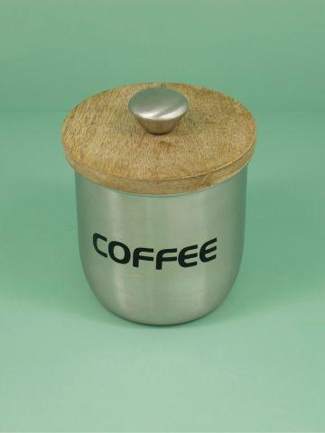 צנצנת נירוסטה לאחסון קפה Moma