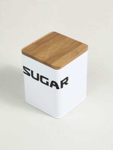 צנצנת לאחסון סוכר Typo