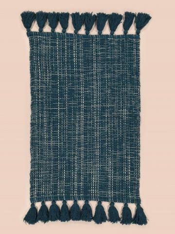 שטיח מלבני עם עיטורי גדילים SOUL