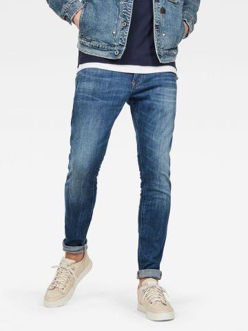 ג'ינס סקיני בשטיפה כהה Revend Skinny