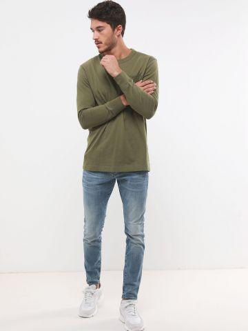 ג'ינס סקיני בשטיפה בהירה Revend Skinny