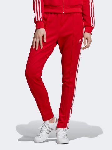 מכנסי טראק עם פסי המותג