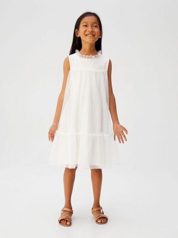 שמלת טול עם עיטורים