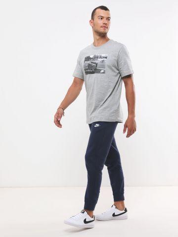 מכנסי טרנינג ארוכים עם לוגו