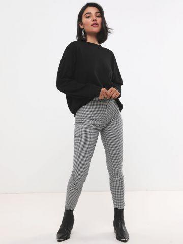 מכנסיים ארוכים בהדפס פפיטה