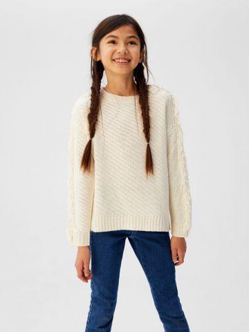 סוודר בעיטור פרנזים