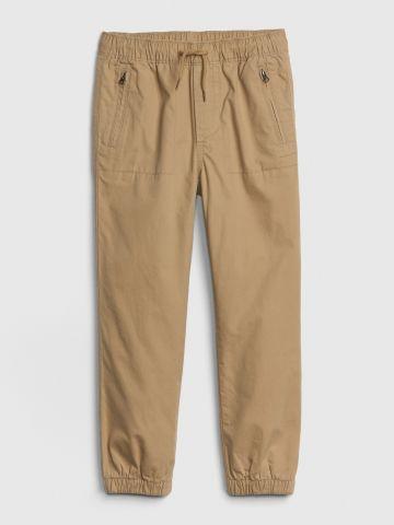 מכנסיים ארוכים עם גומי וכיסים / בנים