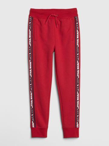 מכנסי טרנינג ארוכים עם סטריפים Star Wars / בנים