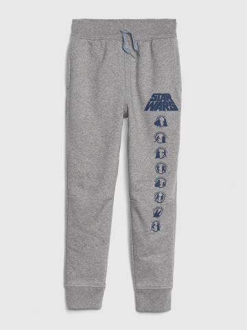 מכנסי טרנינג ארוכים בהדפס Star Wars / בנים
