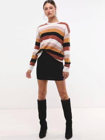 חצאית מיני קורדורוי של TERMINAL X