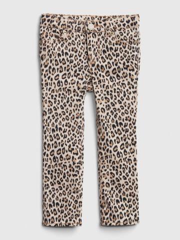 ג'ינס סקיני בהדפס מנומר / 12M-5Y
