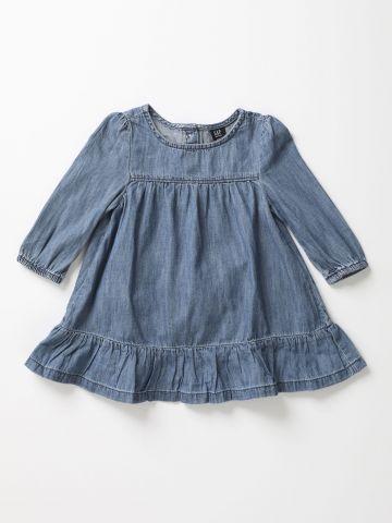 שמלת ג'ינס פפלום / 12M-5Y
