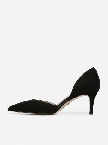 נעלי עקב זמש מחודדות Jaina