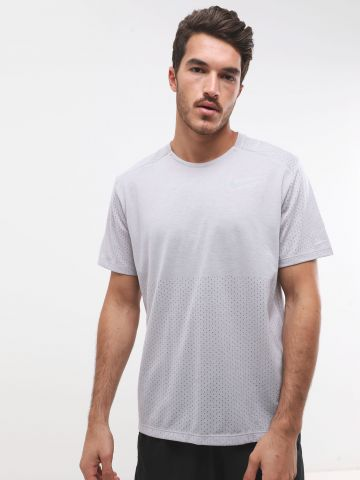 חולצת ריצה Dri-Fit רשת עם לוגו