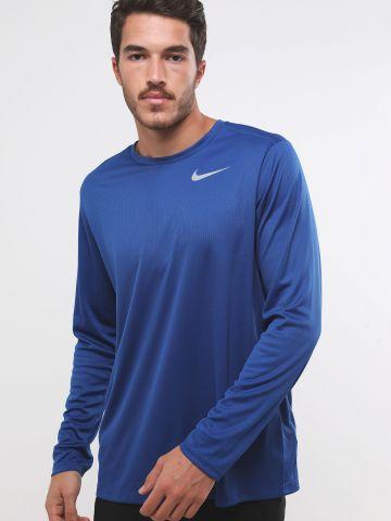 חולצת ריצה Dri-Fit עם לוגו