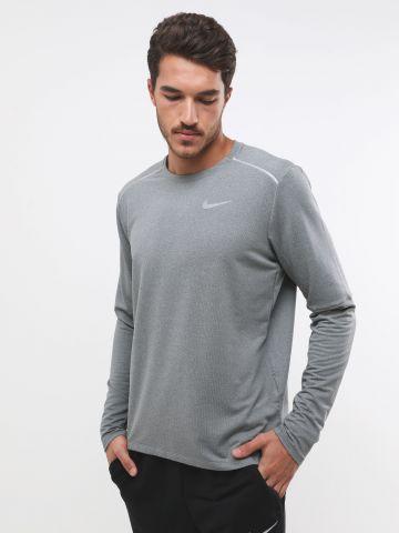 חולצת ריצה Dri-Fit עם הדפס לוגו