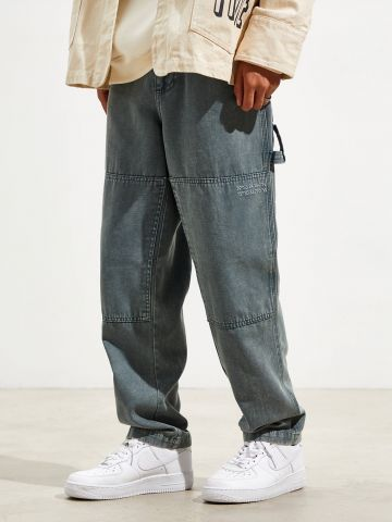 מכנסיים ארוכים Slim-Fit עם תפרים מודגשים BDG