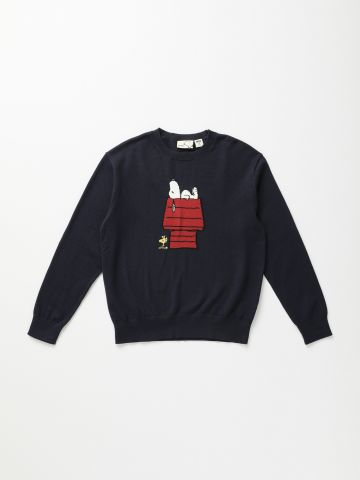 סוודר עם דוגמת סנופי / בנים של UNIQLO