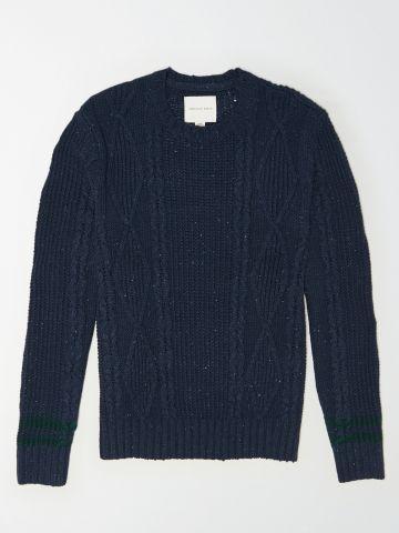 סוודר עם עיטורי קליעה / גברים