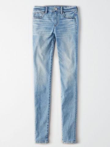 ג'ינס Curvy סקיני סטרץ' בשטיפה בהירה High Rise Jegging / נשים