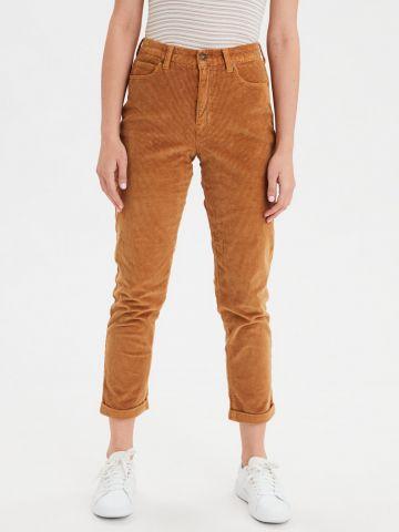 מכנסי קורדורוי בגזרת Mom