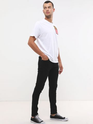 ג'ינס סקיני קלאסי עם כיסים
