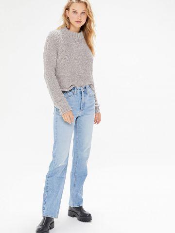 ג'ינס ישר בשטיפה בהירה BDG