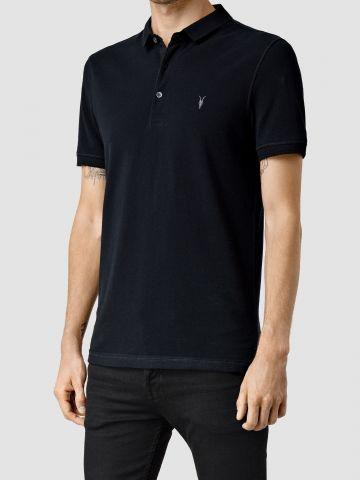 חולצת פולו עם רקמת לוגו Slim-fit