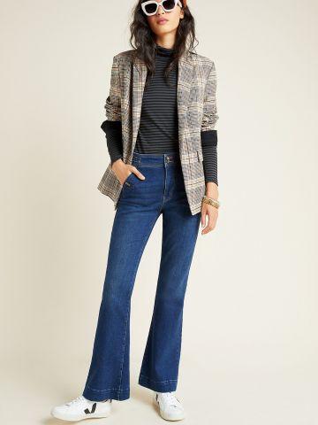 ג'ינס בגזרת סלים מתרחבת Pilcro and the Letterpress