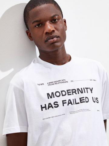 טי שירט עם הדפס UO The 1975 Modernity