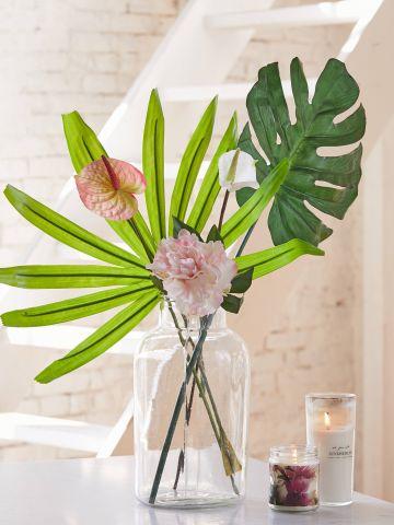 זר פרחים מלאכותי UO