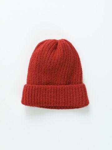 כובע גרב סרוג / נשים