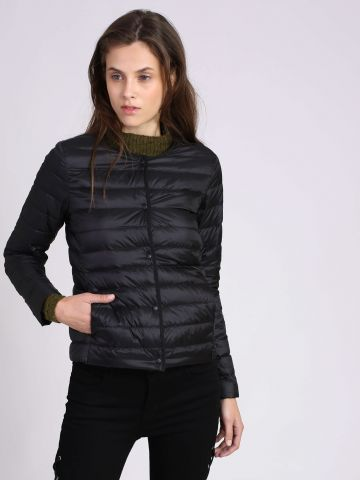 מעיל ללא צווארון Ultra Light Down Compact Jacket