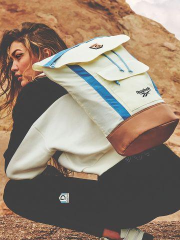 תיק גב עם רקמת לוגו Reebox X Gigi Hadid