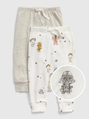 מארז 2 זוגות מכנסי טרנינג Star Wars / 0-24M