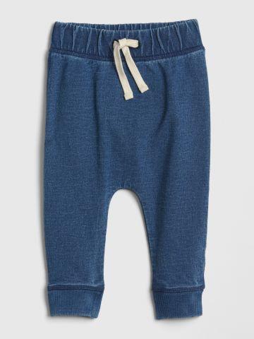 מכנסי טרנינג עם רקמת מיקי מאוס / 0-24M