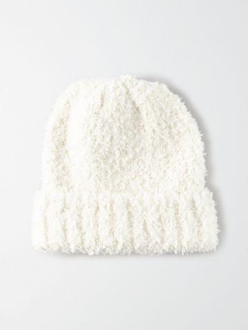 כובע גרב דמוי צמר