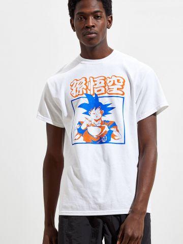 טי שירט עם הדפס Dragon Ball Z UO