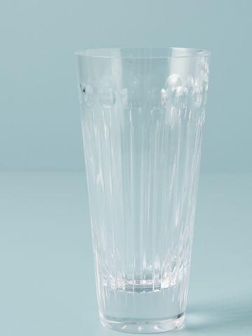 כוס הייבול מקריסטל עם עיטורים עדינים Soho Home
