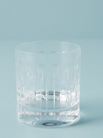 כוס לואובול מקריסטל עם עיטורים עדינים Soho Home